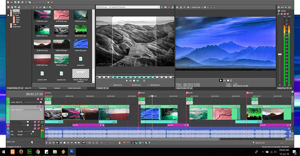 Download sony vegas pro full for window