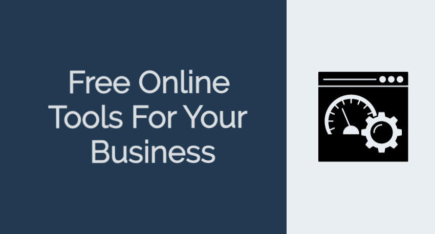 Free Online Tools for your small business