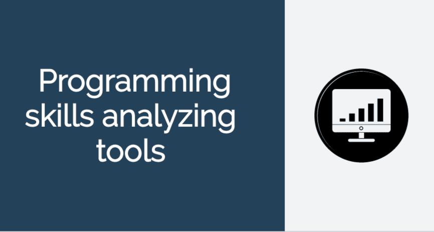 programming skills analyzing tools